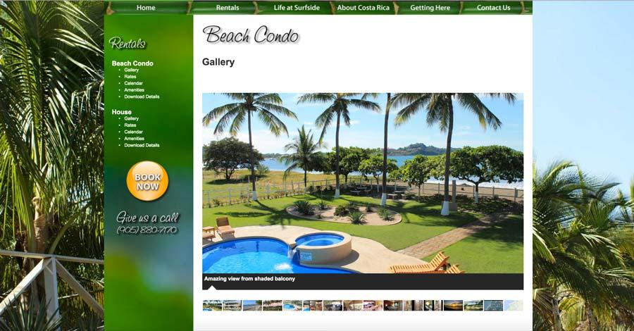 Costa Esmeralda Costa Rica Condo Rental