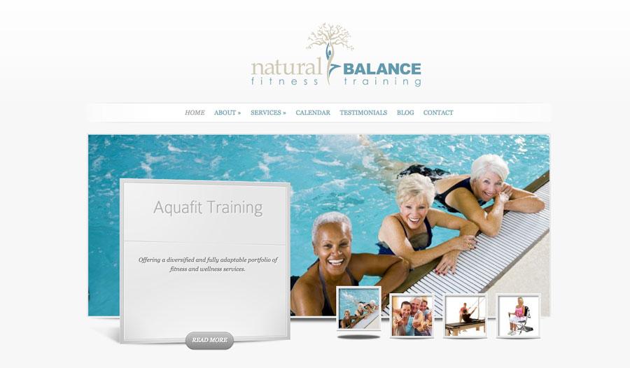 Natural Balance Fitness Training Website
