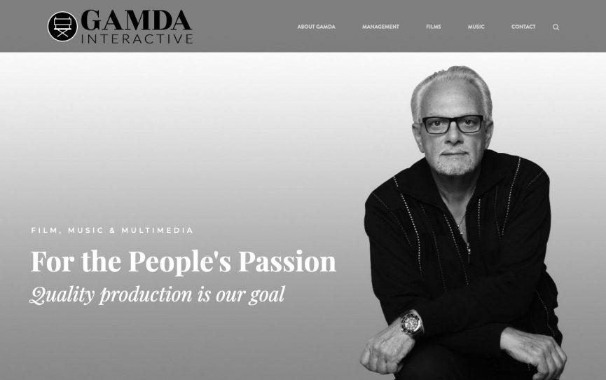 Gamda Interactive Website