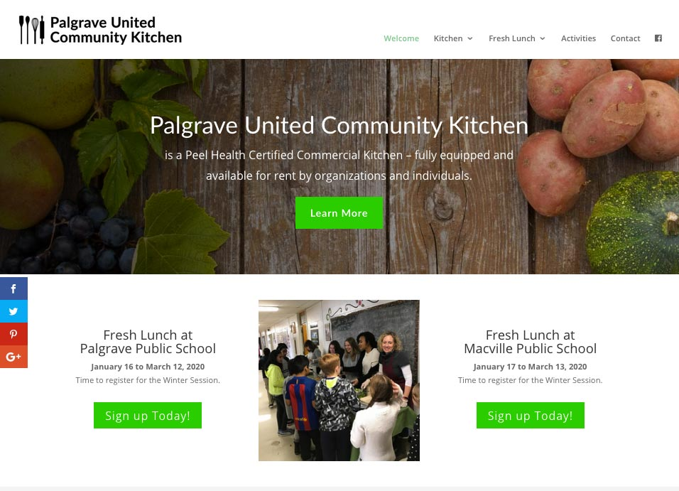 Palgrave United Community Kitchen